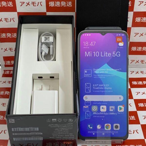 Xiaomi Mi 10 Lite 5G 128GB AU版SIMフリー-正面