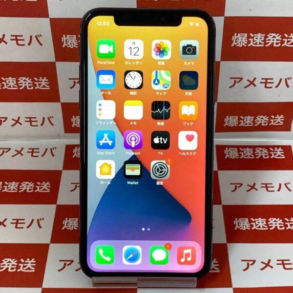 大特価iPhoneX 64GB docomo版SIMフリー MQAX2J/A A1902正面