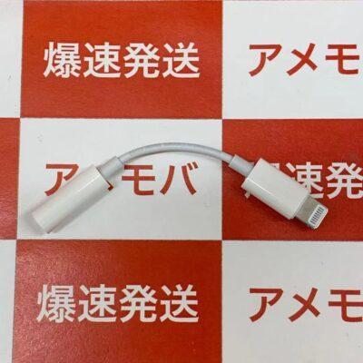 Apple純正 Lightning – 3.5 mmヘッドフォンジャックアダプタのみ
