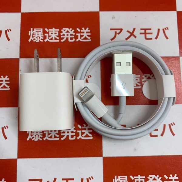 Apple純正Lightning – USBケーブル/USB電源アダプタ セット売り正面