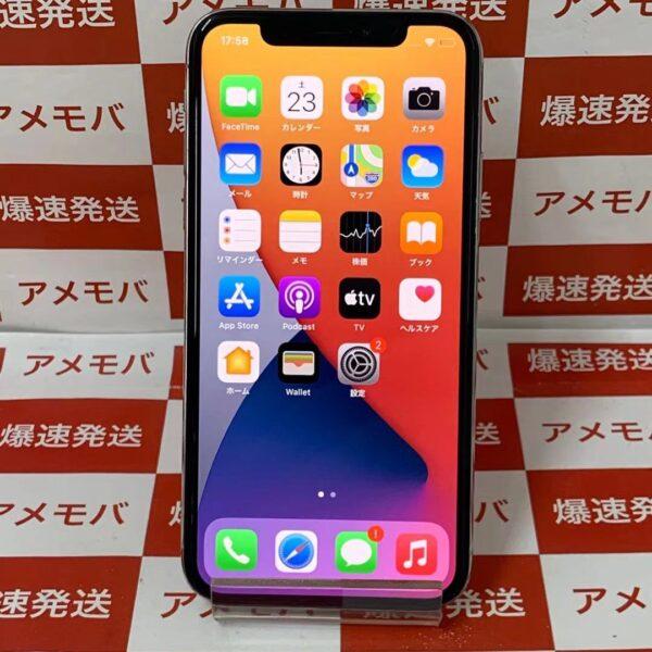 iPhoneX 64GB docomo版SIMフリー MQAY2J/A A1902 正面