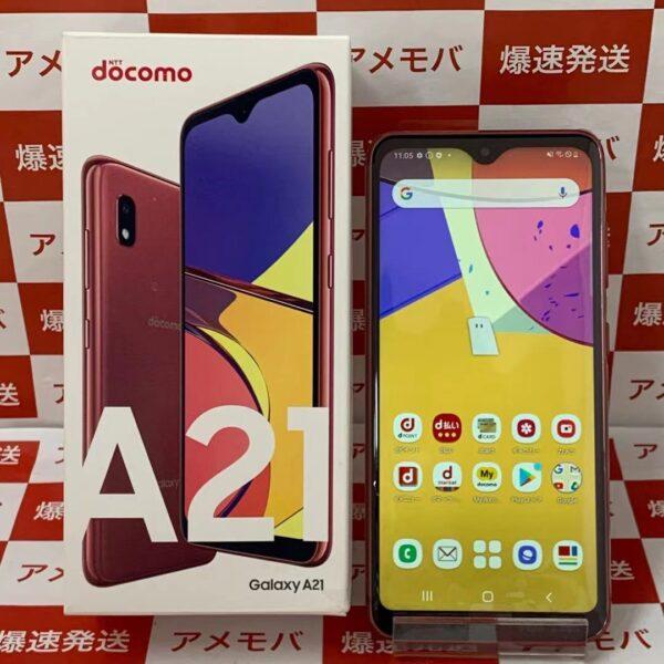Galaxy A21 SC-42A 64GB docomo版SIMフリー 正面