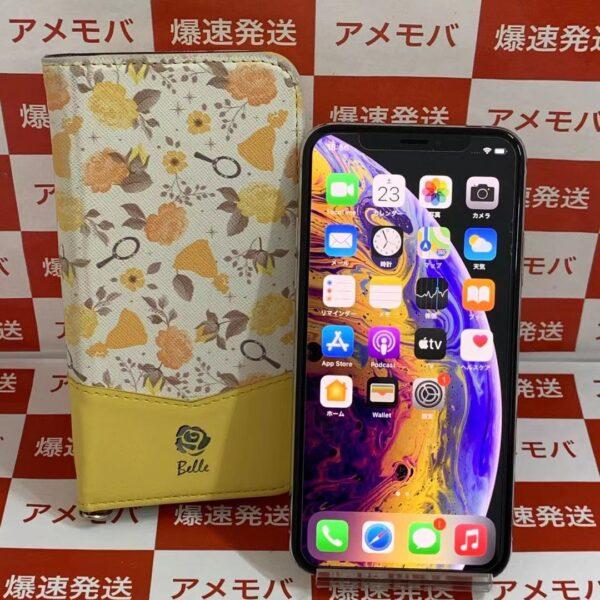 iPhone XS 256GB Softbank版SIMフリー MTE12J/A A2098 正面