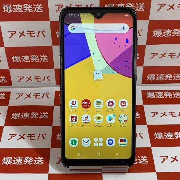 Galaxy A21 SC-42A 64GB docomo 正面