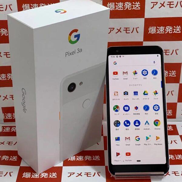 Google Pixel 3a 64GB Softbank版SIMフリー正面