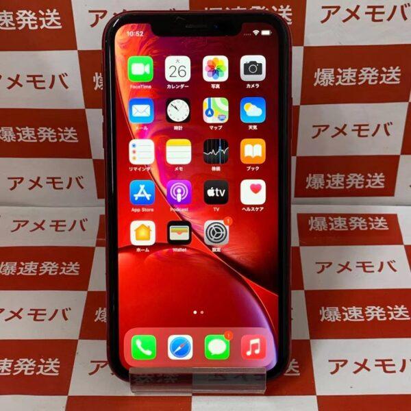 iPhone XR 128GB Softbank版SIMフリー MT0N2J/A A2106 正面