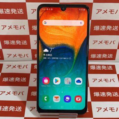 Galaxy A30 SCV43 64GB AU版SIMフリー
