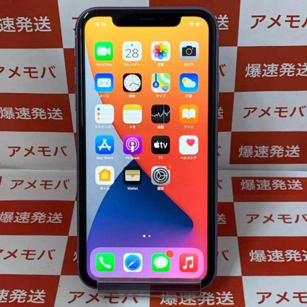 iPhone11 64GB Softbank版SIMフリー MWLX2J/A A2221 正面