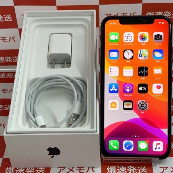 iPhoneX 64GB Apple版SIMフリー MQAX2J/A A1902 正面