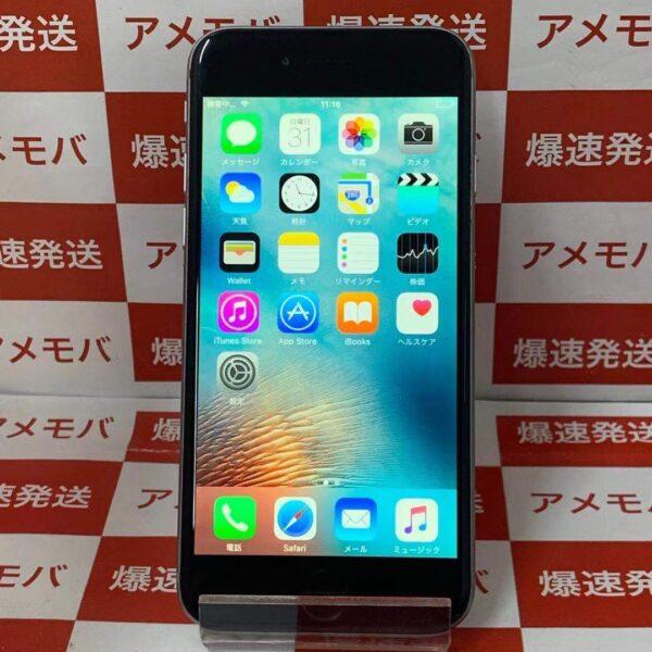 iPhone6 16GB AU○ MG472J/A A1586 正面