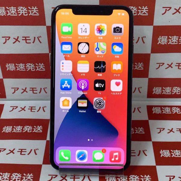 iPhoneX 64GB Softbank版SIMフリー MQAX2J/A A1902 正面