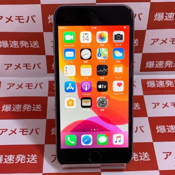 iPhone6s 64GB AU版SIMフリー MKQN2J/A A1688 正面