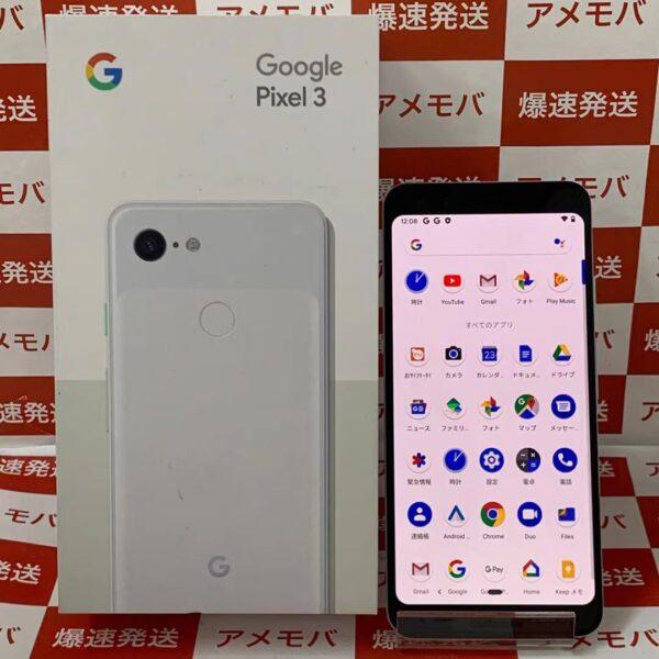 Google Pixel 3 G013B 128GB Softbank版SIMフリー 正面