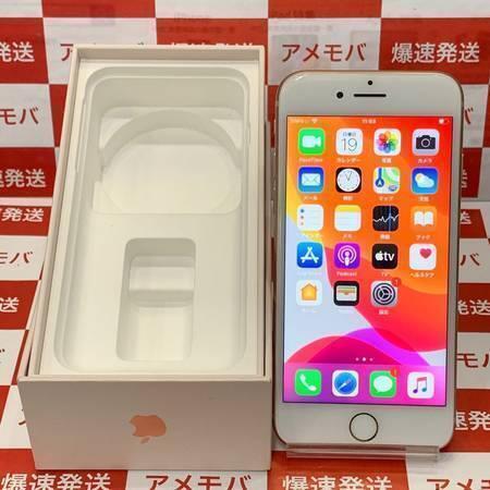 大特価 iPhone8 64GB AU版SIMフリー ゴールド バッテリー85%-正面