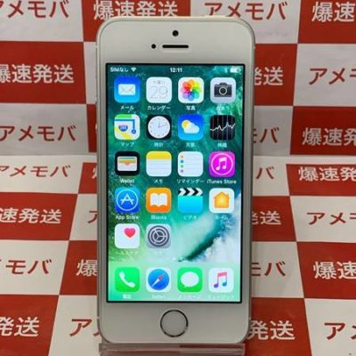 iPhone SE 16GB AU版SIMフリー シルバー バッテリー91%