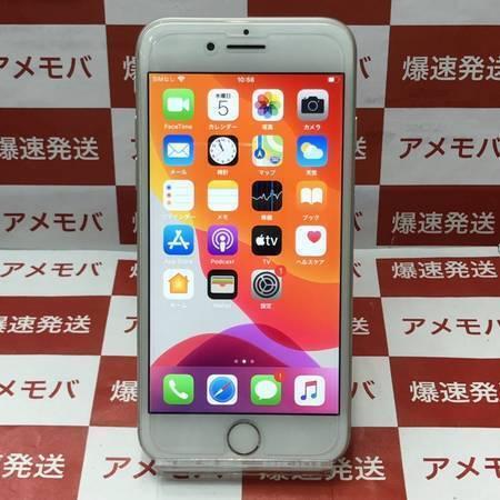iPhone8 64GB AU版SIMフリー シルバー バッテリー87% 美品-正面