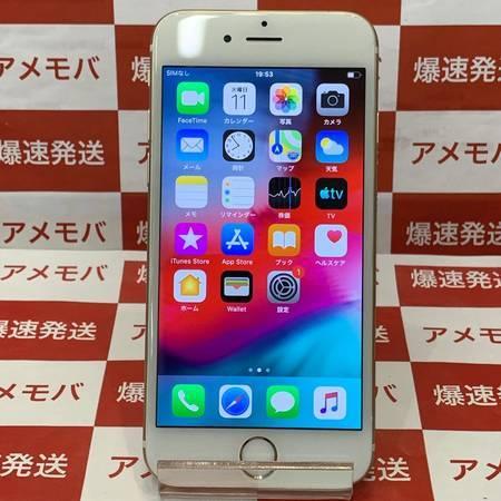 iPhone6 64GB 海外版SIMフリー ゴールド バッテリー100%-正面
