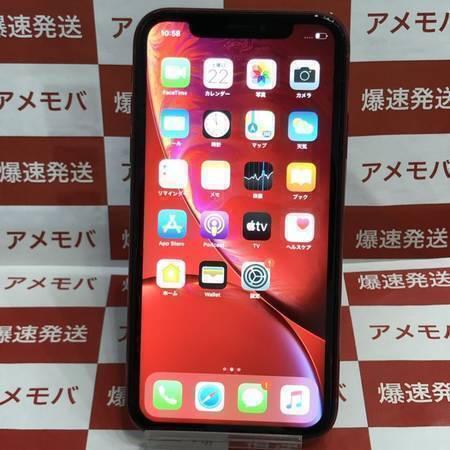 大特価 iPhoneXR 128GB au版SIMフリー バッテリー88% レッド-正面
