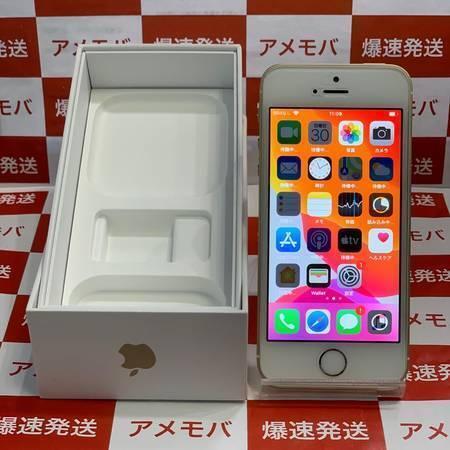 iPhone SE 64GB AU版SIMフリー ゴールド バッテリー86%-正面