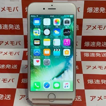 iPhone6 64GB Softbank◯ バッテリー91% シルバー-正面