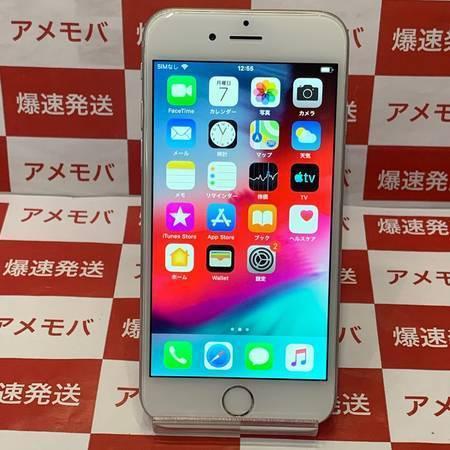 iPhone6 64GB docomo◯ バッテリー85% シルバー-正面