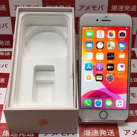 iPhone8 64GB Apple版SIMフリー ゴールド バッテリー83%-正面