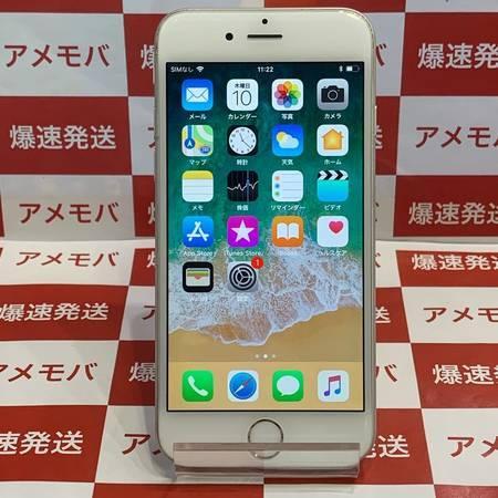 iPhone6 64GB AU◯ バッテリー86% シルバー-正面