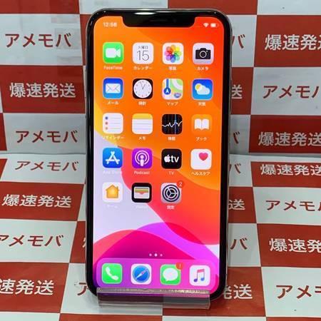 iPhoneX 64GB docomo版SIMフリー 美品 バッテリー98%-正面
