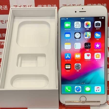 iPhone6 Plus 16GB AU◯ バッテリー91% シルバー 極美品-正面