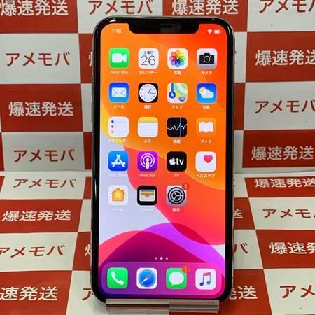 iPhoneX 64GB docomo版SIMフリー シルバー バッテリー88%-正面