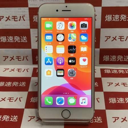 iPhone6s 64GB docomo版SIMフリー バッテリー87%-正面
