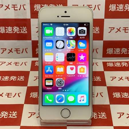 iPhone5s 16GB docomo○ バッテリー90% シルバー-正面