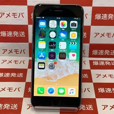 iPhone6 64GB Softbank○ スペースグレイッテリー100%-正面