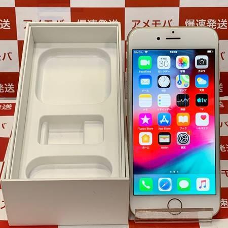 iPhone6 16GB AU○ バッテリー100% ゴールド-正面