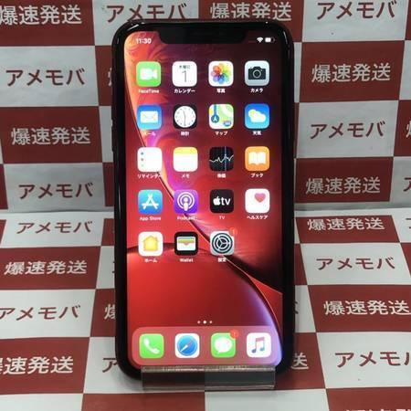 iPhoneXR 128GB AU版SIMフリー レッド バッテリー89%-正面