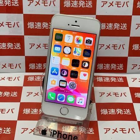 大特価 iPhone SE 16GB docomo版SIMフリー シルバー-正面