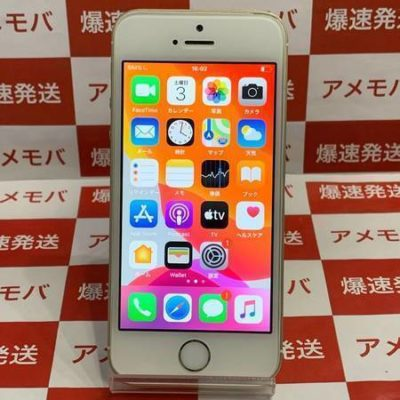 iPhone SE 64GB AU版SIMフリー ゴールド バッテリー95%
