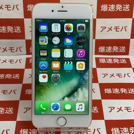 iPhone6 64GB AU○ ゴールド バッテリー88%-正面