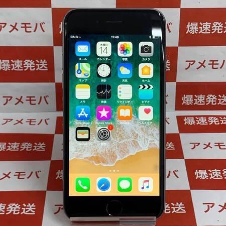 iPhone6 16GB AU○ バッテリー100% スペースグレイ-正面