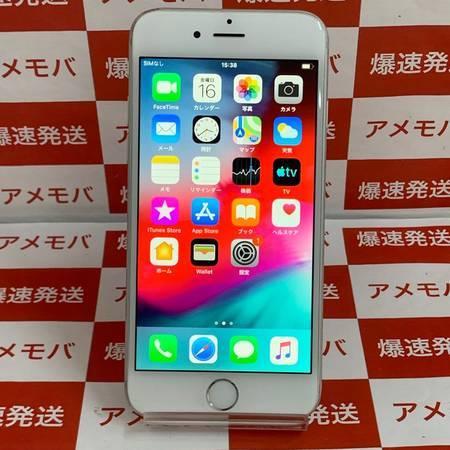 iPhone6 16GB AU○ シルバー バッテリー86%-正面