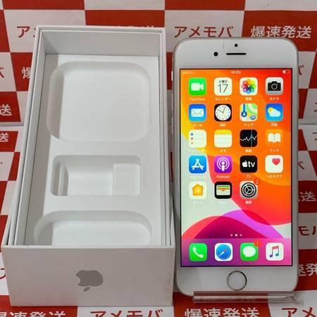 iPhone6s 64GB AU版SIMフリー シルバー バッテリー100%-正面