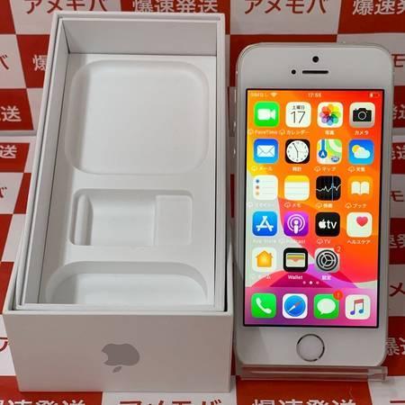 iPhone SE 16GB Softbank版SIMフリー シルバー バッテリー100%-正面