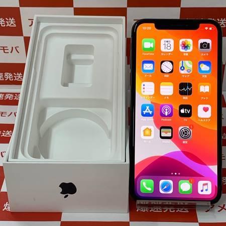 iPhoneX 64GB SIMフリー スペースグレイッテリー87%-正面