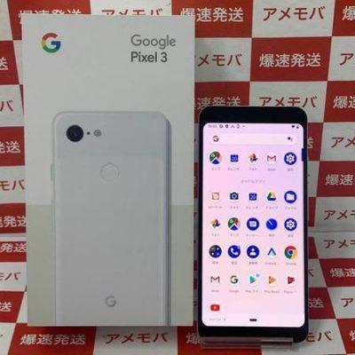 Google Pixel 3 64GB Softbank版SIMフリー 美品 ホワイト