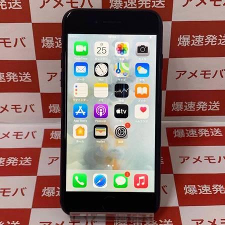iPhone7 128GB UQモバイル版SIMフリー ブラック バッテリー84%-正面
