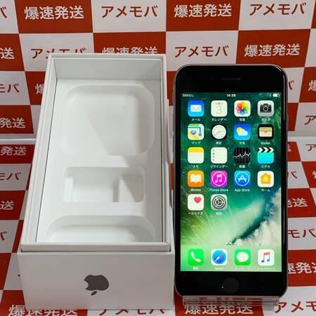 iPhone6s 64GB AU版SIMフリー スペースグレイ-正面