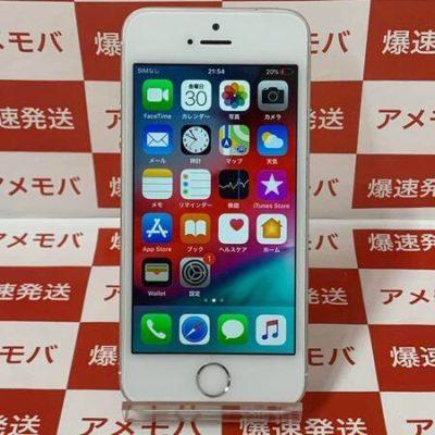 iPhone SE 16GB Softbank版SIMフリー シルバー バッテリー88%