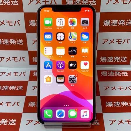iPhoneX 64GB Softbank版SIMフリー シルバー-正面
