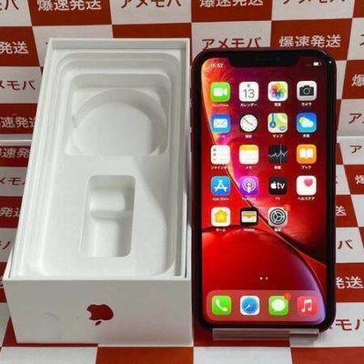 iPhoneXR  128GB AU版SIMフリー バッテリー85% レッド