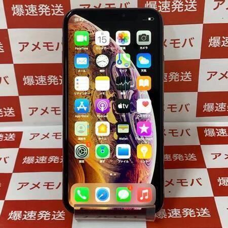 iPhoneXS 64GB AU版SIMフリー ゴールド-正面